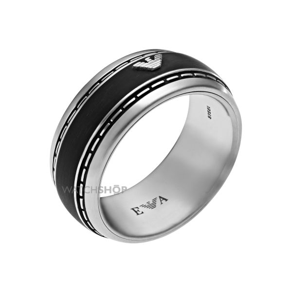Mens Emporio Armani Stainless Steel Size V Ring EGS1924040514