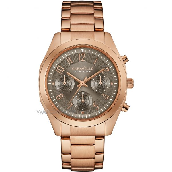 Ladies Caravelle New York Melissa Chronograph Watch 44L198