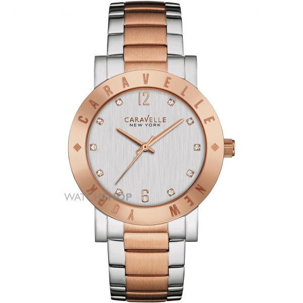 Ladies Caravelle New York Boyfriend Watch 45L150