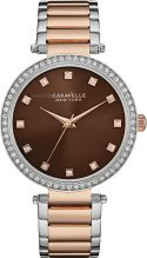 Ladies Caravelle New York T-Bar Watch 45L152