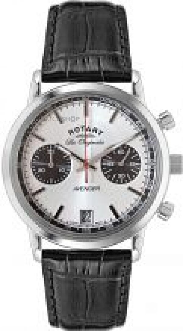 Mens Rotary Les Originales Swiss Avenger Chronograph Watch GS90130/06