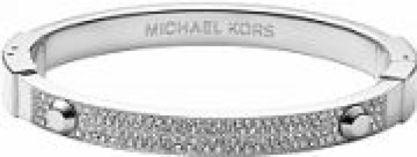Ladies Michael Kors PVD Silver Plated Bangle MKJ2746040