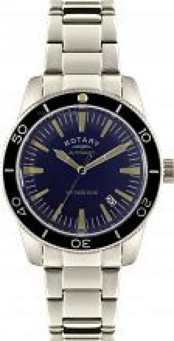 Mens Rotary Exclusive Vintage Dive Automatic Watch GB00488/05