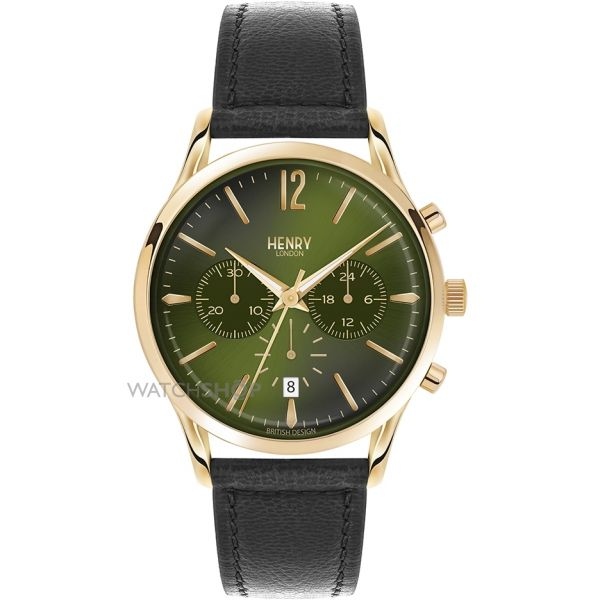 Mens Henry London Heritage Chiswick Chronograph Watch HL41-CS-0106