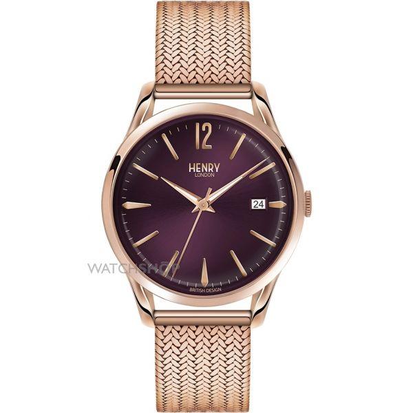 Unisex Henry London Hampstead Watch HL39-M-0078