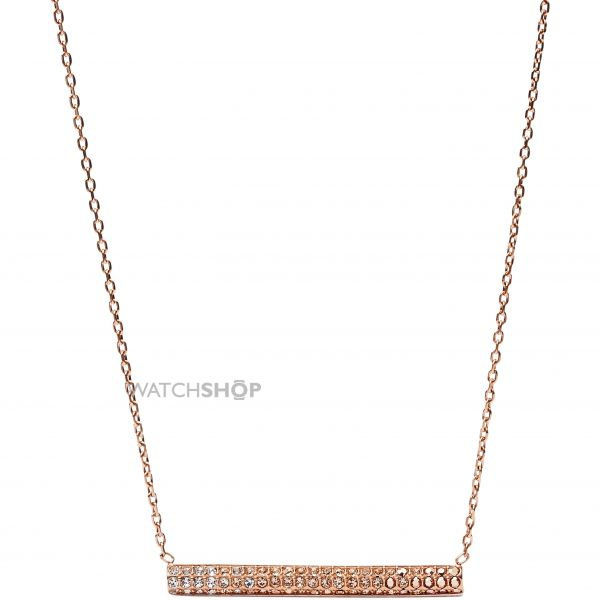 Ladies Fossil PVD rose plating Necklace JF02144791