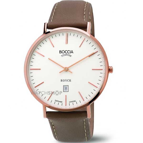 Mens Boccia Watch B3589-04