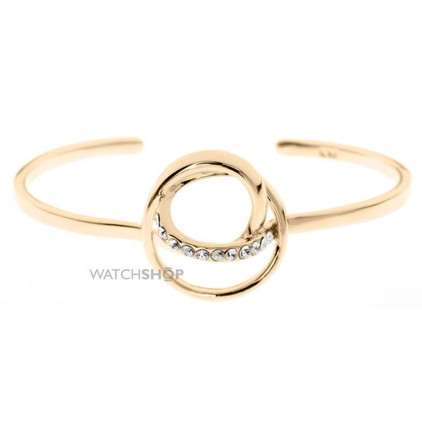 Ladies Karen Millen PVD Gold plated Bangle KMJ876-22-23