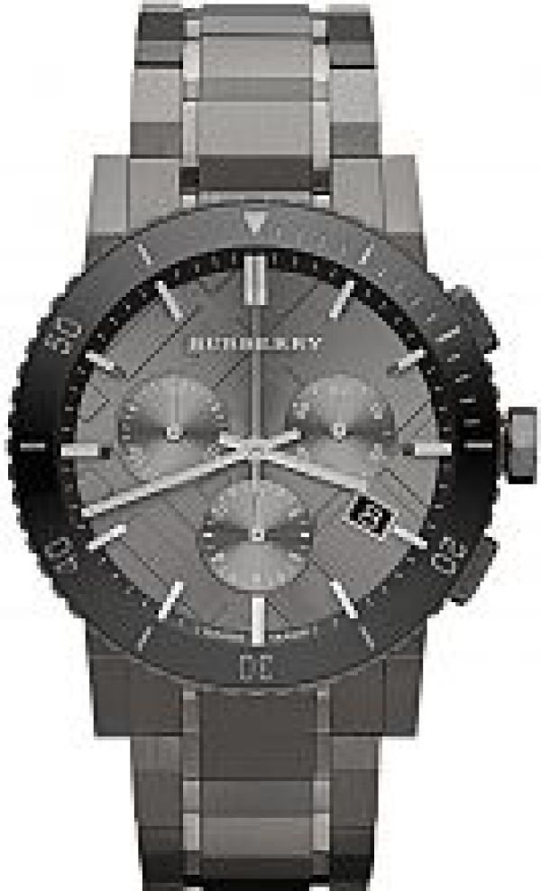 Mens Burberry The City Chronograph Watch BU9381