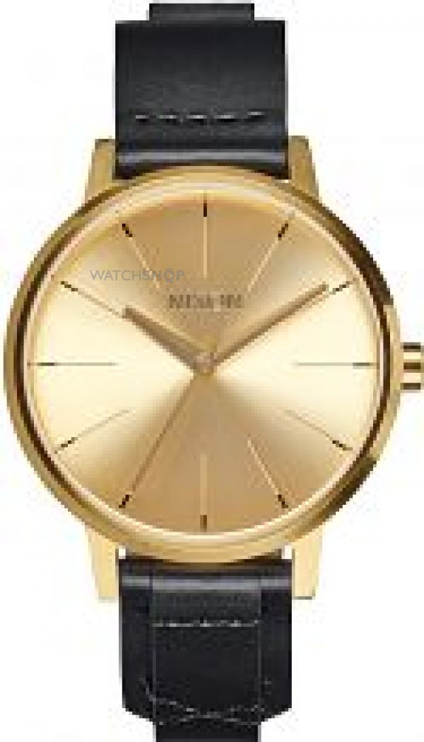 Ladies Nixon The Kensington Leather Watch A108-2143