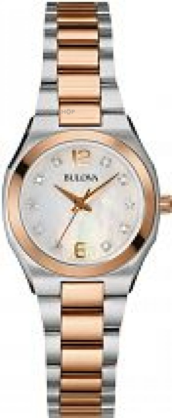 Ladies Bulova Diamond Gallery Diamond Watch 98S143