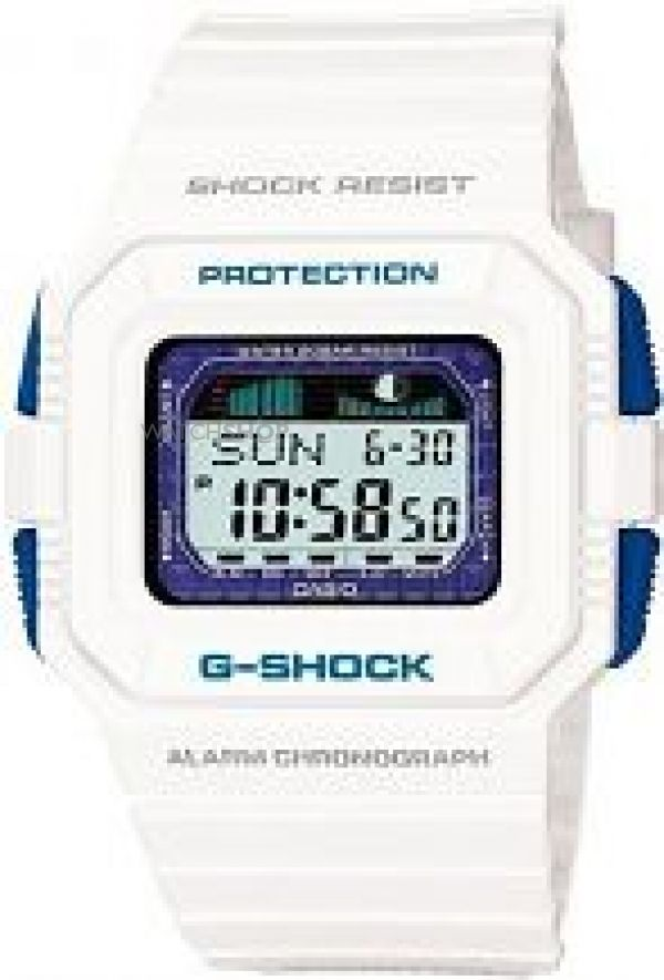 Mens Casio G-Shock G-Lide Alarm Chronograph Watch GLX-5500-7ER