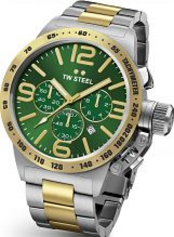 Mens TW Steel Canteen Chronograph 45mm Watch CB0063