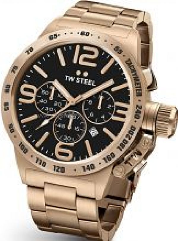 Mens TW Steel Canteen Chronograph 45mm Watch CB0173