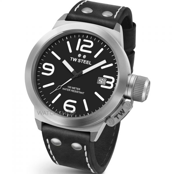 Mens TW Steel Canteen 50mm Watch CS0002