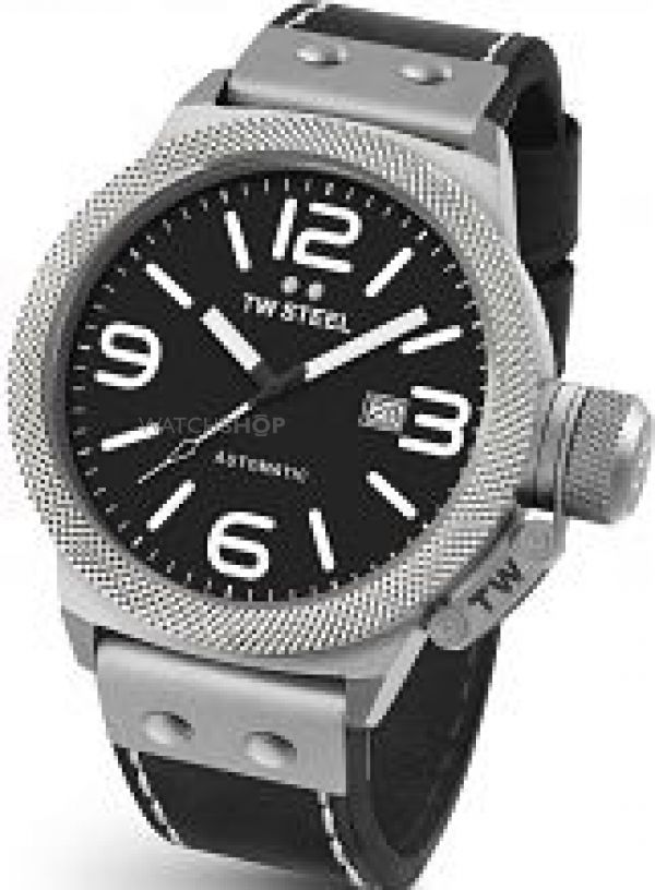 Mens TW Steel Canteen Automatic 45mm Watch CS0005