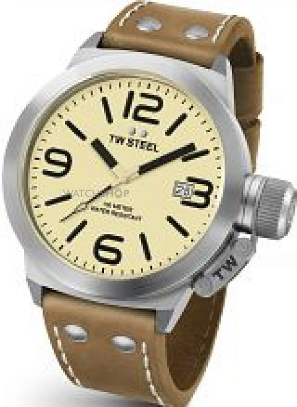 Mens TW Steel Canteen 45mm Watch CS0011