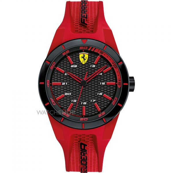 Mens Scuderia Ferrari Redrev Watch 0840005
