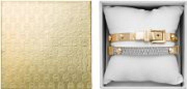 Ladies Michael Kors PVD Gold plated Bangle Gift Set MKJ5191710