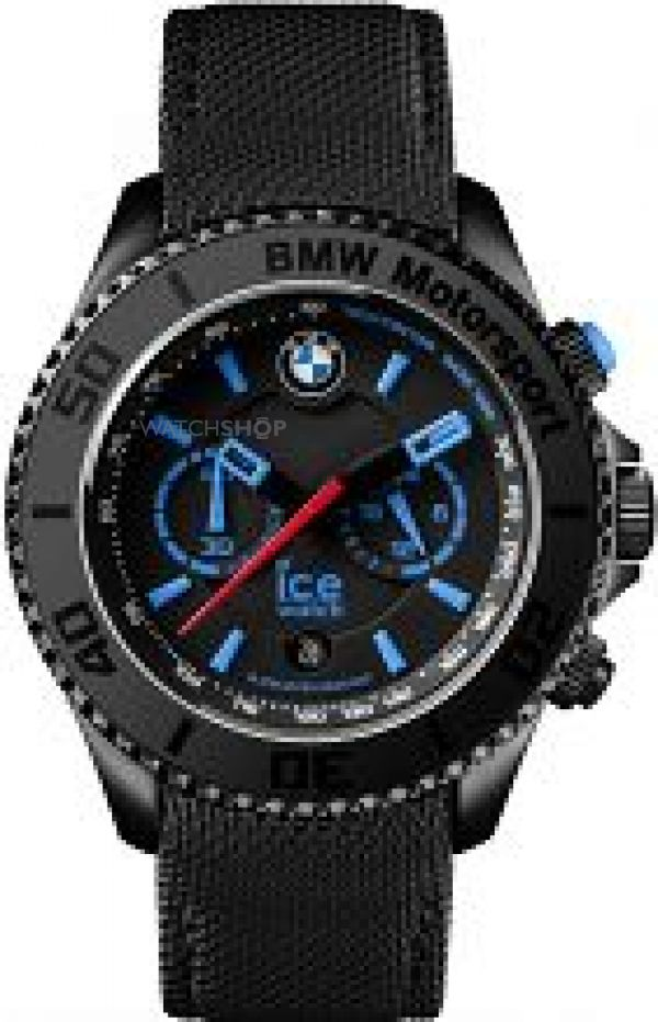 Gents Ice-Watch BMW Motorsport Big Chronograph Watch BM.CH.KLB.B.L.14