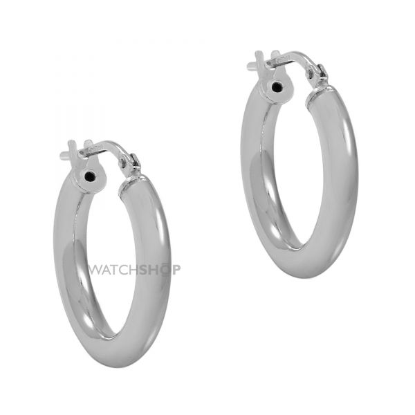 Ladies Essentials Sterling Silver Small Hoop Earrings AJ-37230878