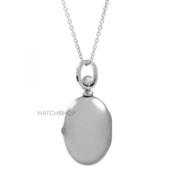 Ladies Essentials Sterling Silver Locket Pendant AJ-37230863