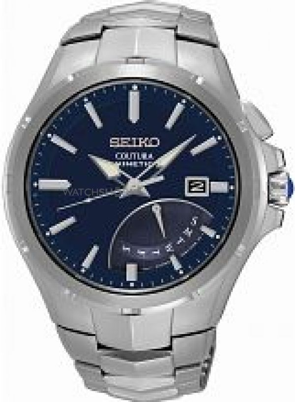 Mens Seiko Coutura Kinetic Watch SRN067P1