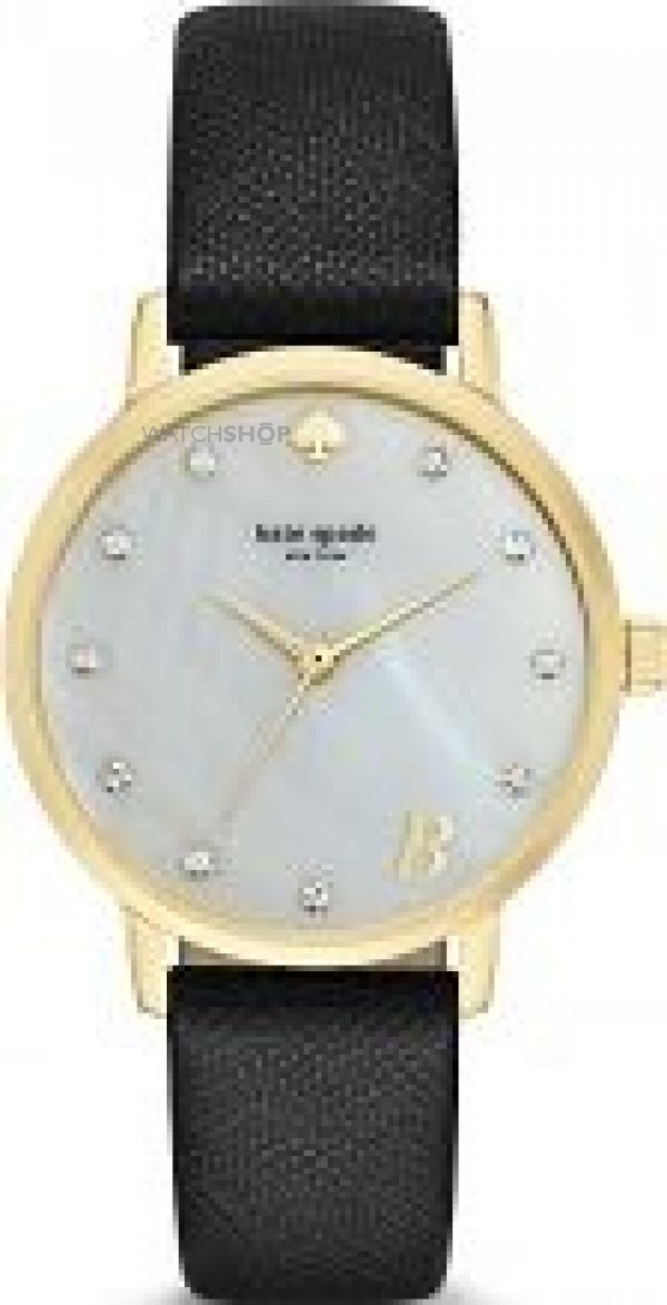 Ladies Kate Spade Metro Monogram Watch 1YRU092B
