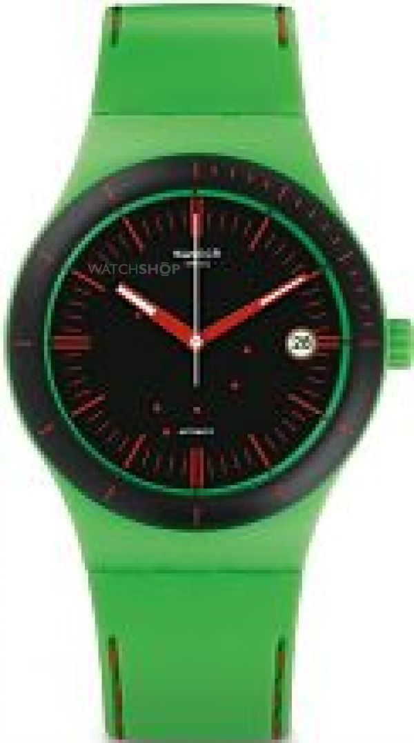 Unisex Swatch Sistem Frog Automatic Watch SUTG401