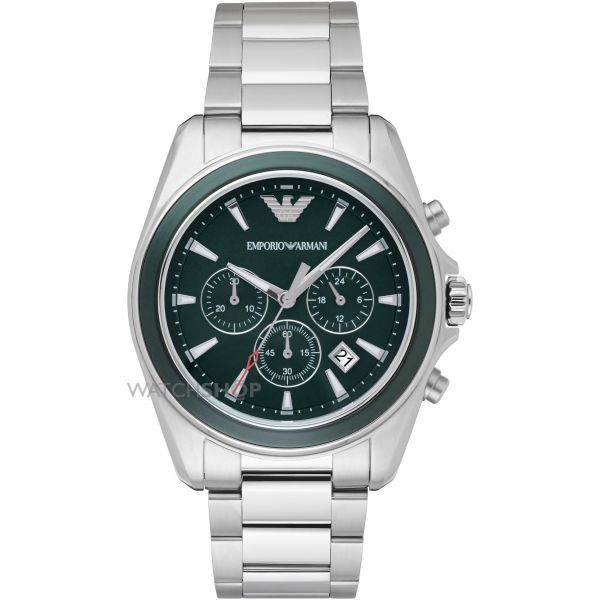 Mens Emporio Armani Chronograph Watch AR6090