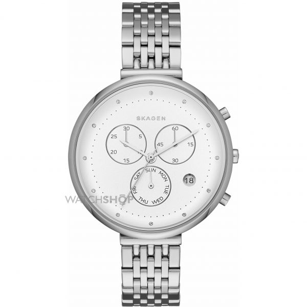 Ladies Skagen GITTE Chronograph Watch SKW2419