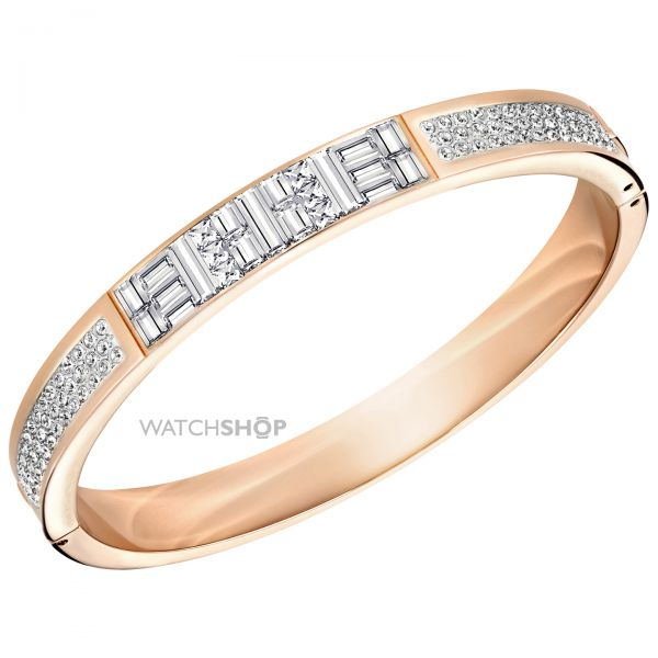 Ladies Swarovski PVD rose plating ETHIC BANGLE 5202244