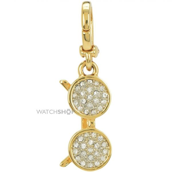 Ladies Juicy Couture PVD Gold plated Little Luxuries Pave Sunglasses Charm WJW760-710