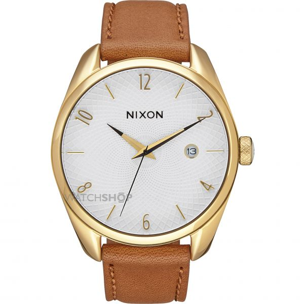 Ladies Nixon The Bullet Leather Watch A473-1425