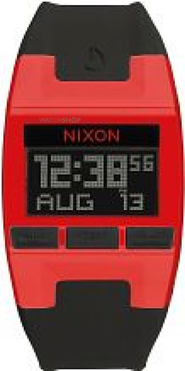 Unisex Nixon The Comp S Chronograph Watch A336-209