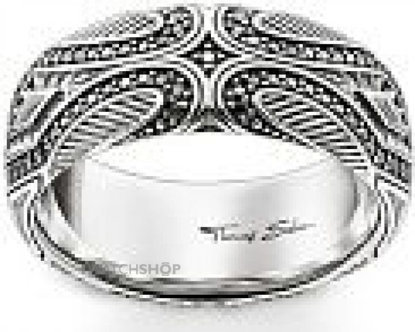 Mens Thomas Sabo Sterling Silver MAORI RING SIZE O TR2101-643-11-54