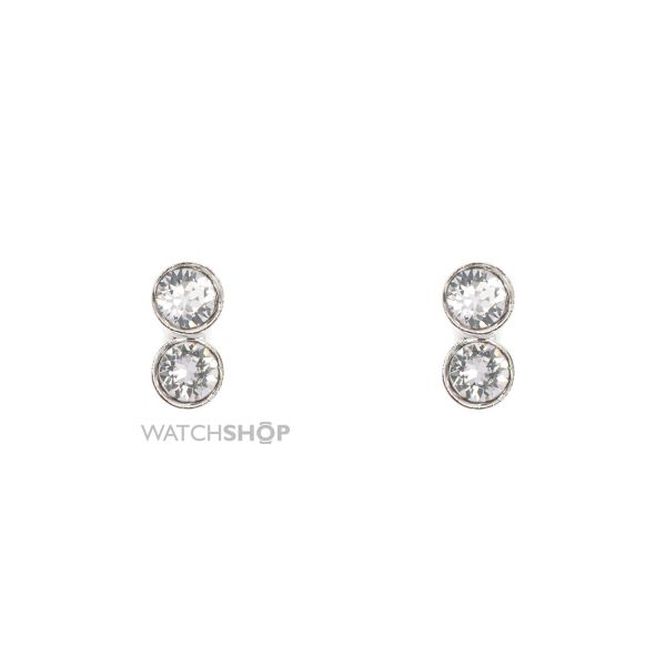 Ladies Karen Millen Stainless Steel TINY DOT STUD EARRING KMJ891-01-02