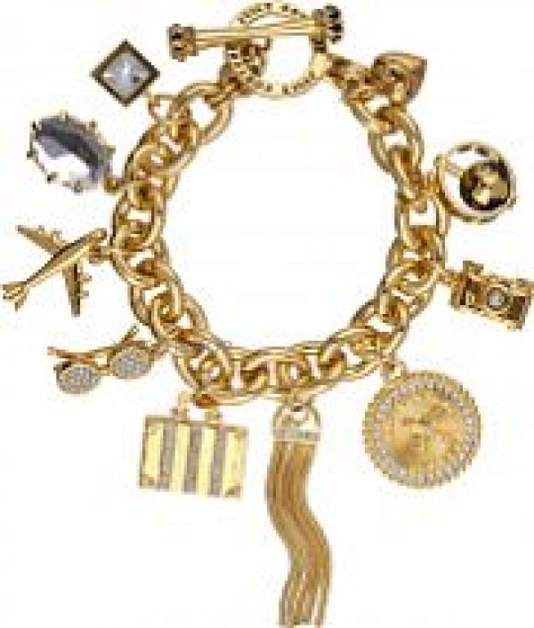 Ladies Juicy Couture PVD Gold plated JET SET BRACELET WJW803-710