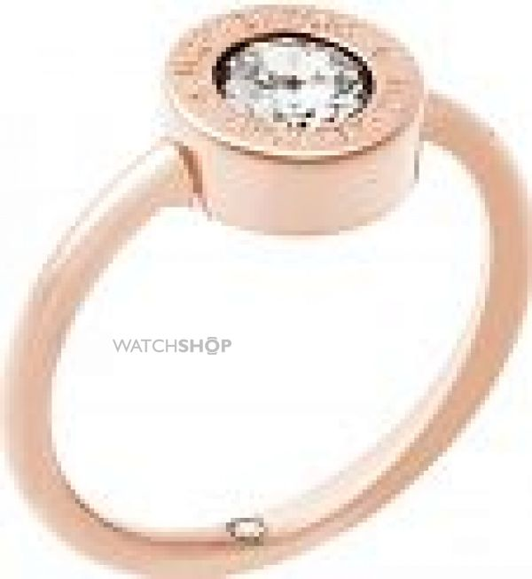 Ladies Michael Kors PVD rose plating Ring Size L.5 MKJ5345791L5