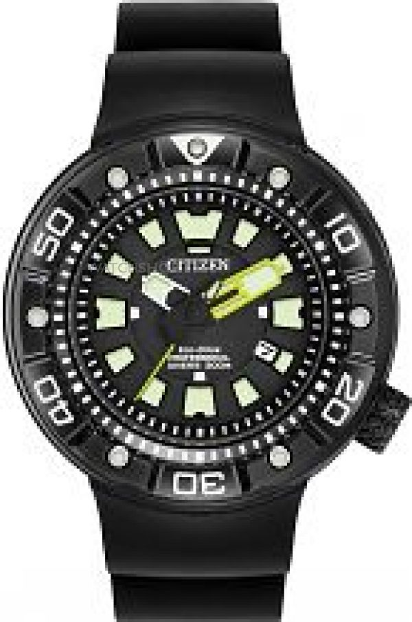 Mens Citizen Promaster Divers Eco-Drive Watch BN0175-19E