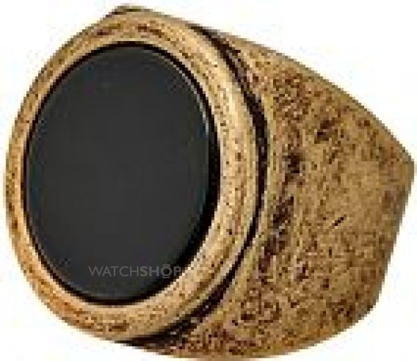 Icon Brand Base metal Size Medium Premium Big Deluxe Ring P1077-R-BLK-MED