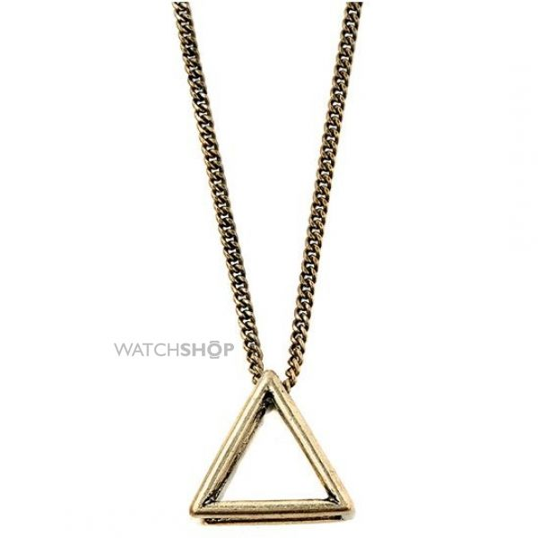 Icon Brand Base metal Triad Fixation Necklace LE1128-N-GLD
