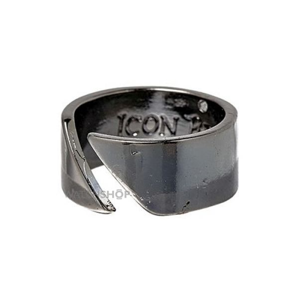 Icon Brand Base metal Size Medium Almost There Ring P1065-R-GUN-MED