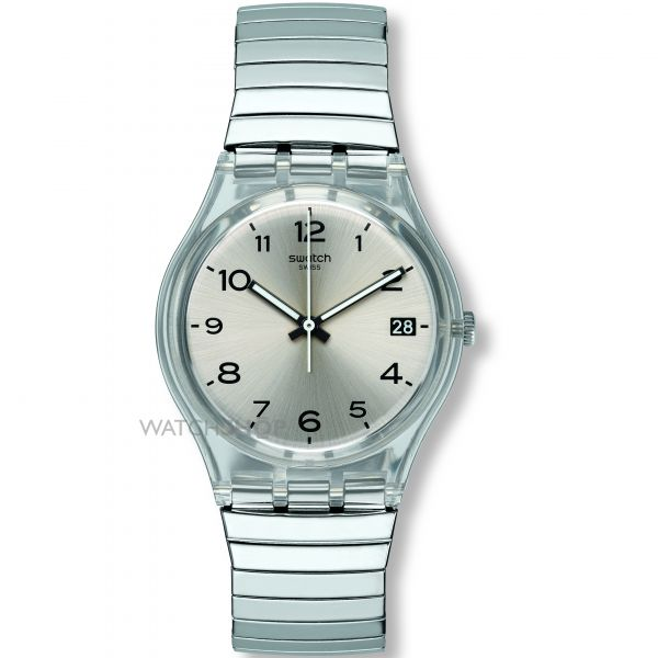 Unisex Swatch Originals Gent -Silverall S Watch GM416B