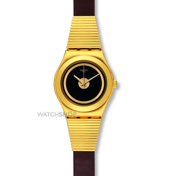 Ladies Swatch Irony Medium -High Neck Watch YLG130