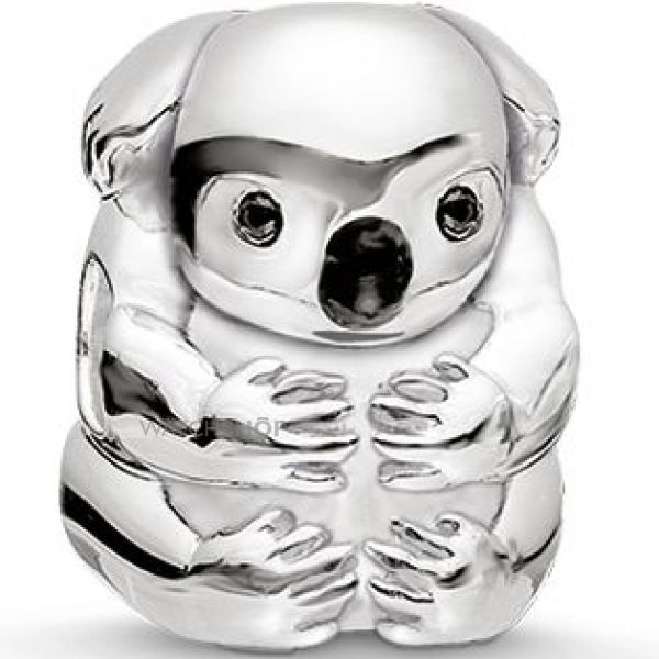 Ladies Thomas Sabo Sterling Silver Karma Beads Koala Bear K0195-041-11