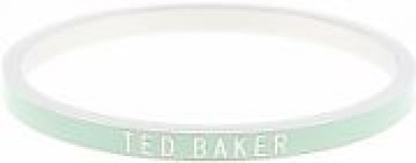Ladies Ted Baker PVD Silver Plated Clary Narrow Enamel Bangle TBJ1053-01-177