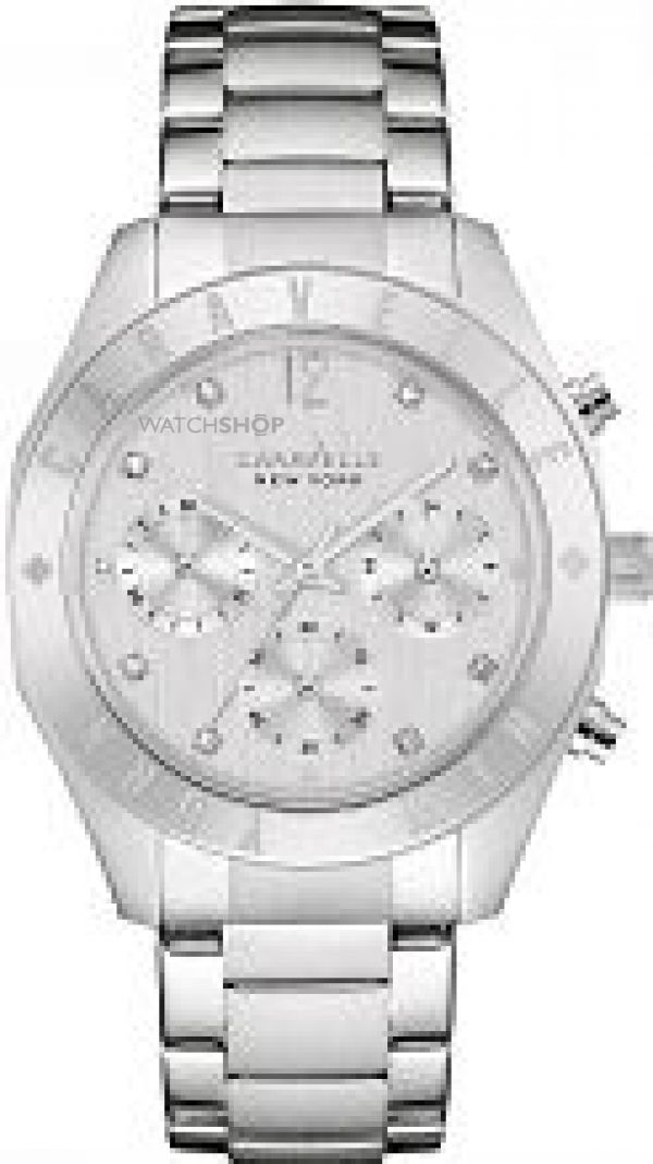 Ladies Caravelle New York Chronograph Watch 43L190