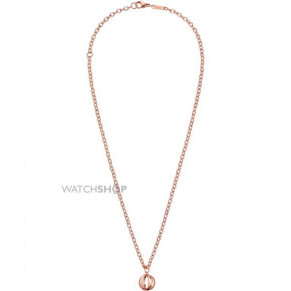 Ladies Calvin Klein PVD rose plating SHOW NECKLACE KJ4XPN100300