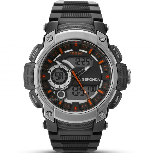 Mens Sekonda Alarm Chronograph Watch 1160